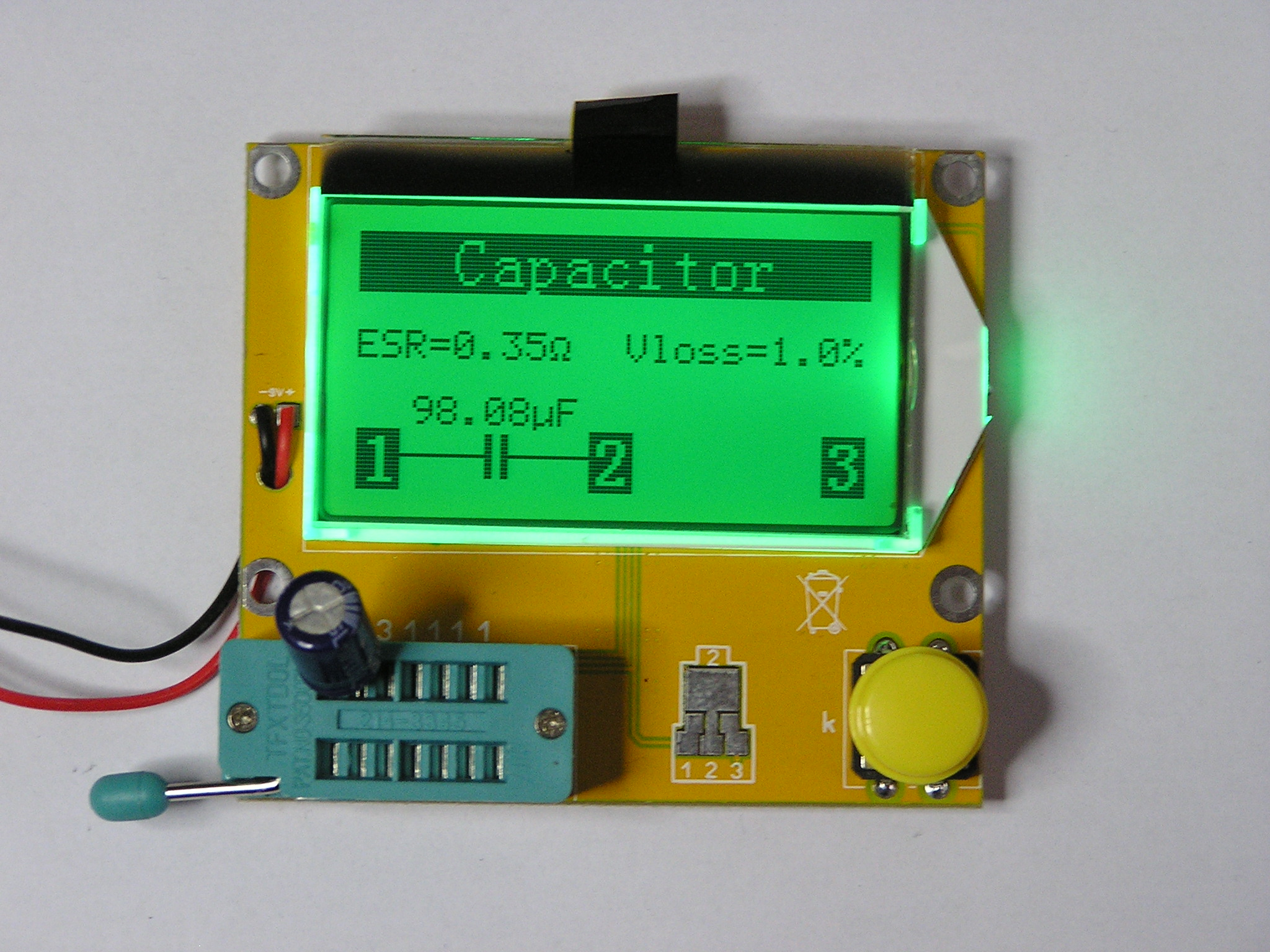microcontroller based lcr meter Exporter of instrumentation part - flow using electro magnetic flow meter, lcr bridge trainer kit microcontroller based pid control trainer.